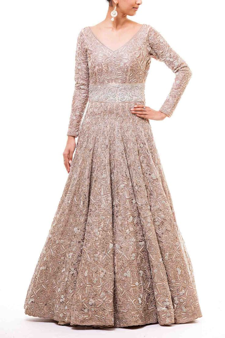 Stone Studded Gown