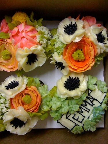 The most beautiful cupcakes I've ever seen...