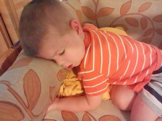 Elaludt a kupacban #galgillemotbarnabas