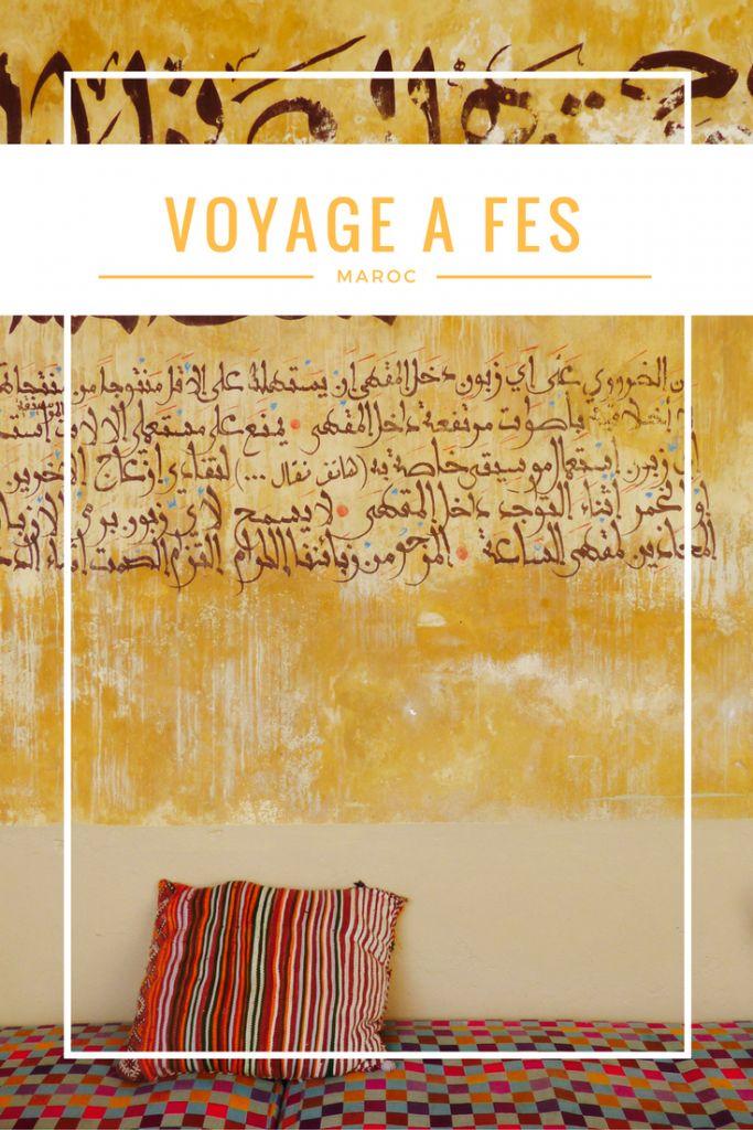Voyage à Fès, Maroc. Visite de la Médina ocre, cours de cuisine marocaine...