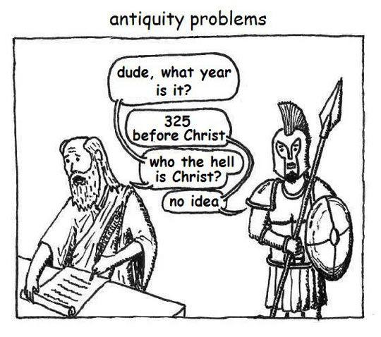 Antiquity problems