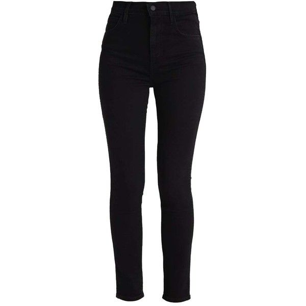 Levi's Line 8 LEVIS LINE 8 HIGH SKINNY Jeans Skinny Fit (100 CAD) ❤ liked on Polyvore featuring jeans, pants, levi skinny jeans, cut skinny jeans, super skinny jeans, levi jeans and denim skinny jeans