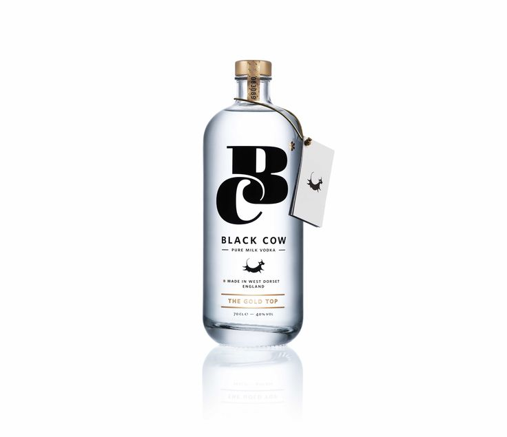 Black Cow is the world's only Pure Milk Vodka. A crystal clear premium vodka, perfect in any long drink or cocktail.   #alcohol #black cow #drink #milk vodka #vodka