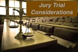 Jury Trial Considerations: Directed Verdict and the Verdict Form -
