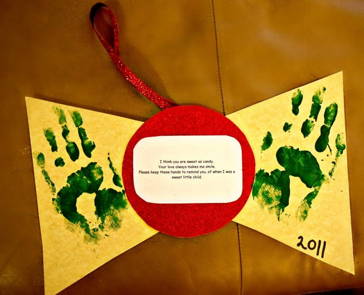 Handprint Christmas Craft Ideas Part - 38: Perfect Craft If You Have Kids. Christmas ...