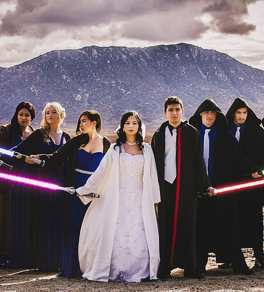 Wedding Dance Star Wars: This Couple Had The Star Wars Wedding Of Your Galactic