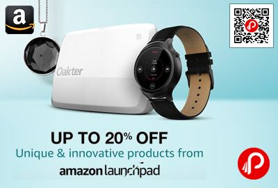 Amazon #LaunchPad brings Upto 20% off on Unique and Innovative Products. Upto 20% off on innovative products Featured products from Indian startups  http://www.paisebachaoindia.com/unique-and-innovative-products-upto-20-off-amazon/