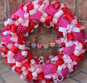 Cute Valentine's Day Wreath Tutorial