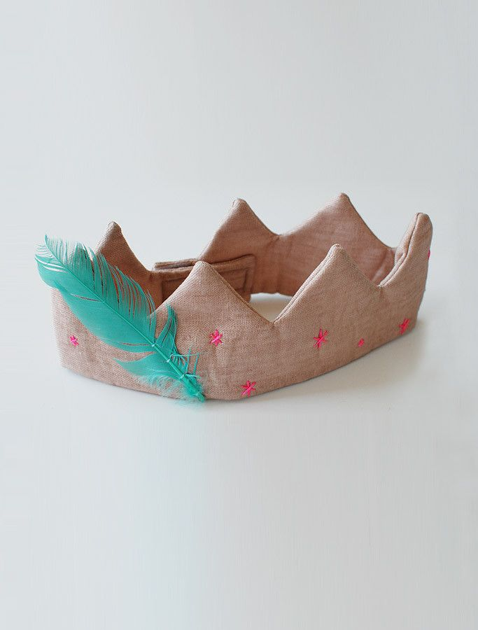 the | feathery fabric | crown