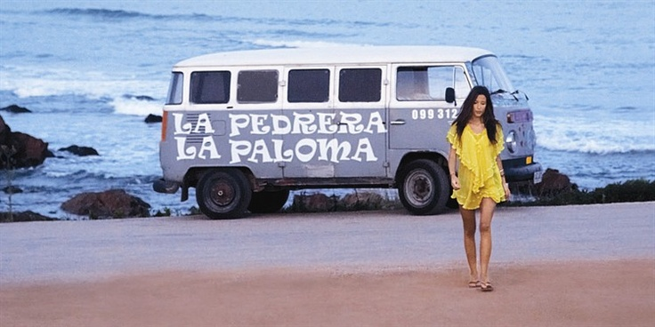 VW Bus...on a beach...either in URUGUAY or...NEW ZEALAND(We have a 1973 VW Hippie Bus!)
