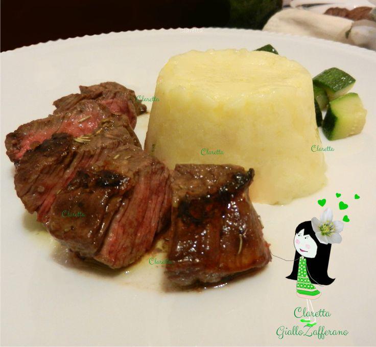 Tagliata di manzo con verdura cotta, Tagliata ricetta, Cottura tagliata, 226