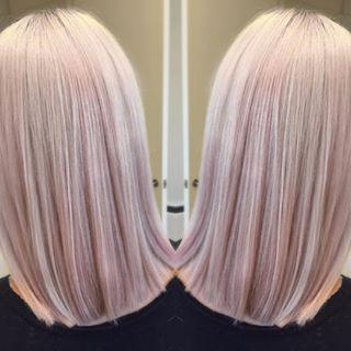 pastel pink blonde hair - Google Search