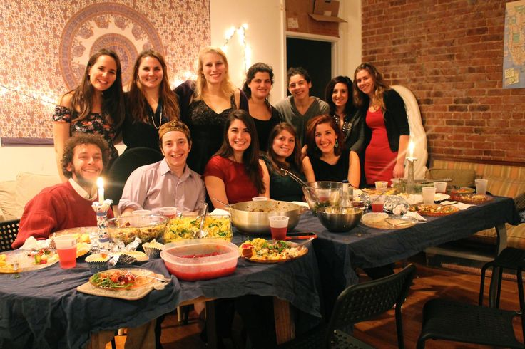 With so many Jewish festivals oriented to healing the world, Abigail Pogrebin attended a Shabbat dinner run by recent college graduates who are devoting a year to vanquishing poverty.