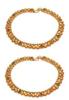 Picks of the week - Anklet designs - Latest Jewellery Design for Women   Men online - Jewellery Design Hub