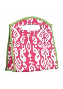 $25 Ikat Pink Lunch Tote