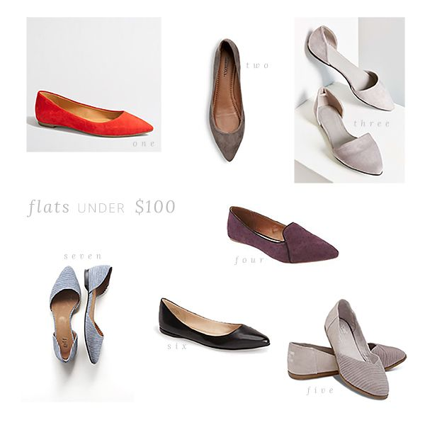 Favorite flats under $100 // The Small Things Blog