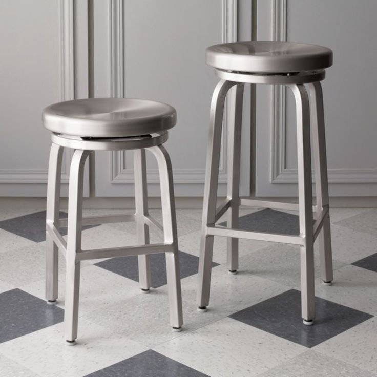 Spin Barstools    Crate and Barrel $99-109