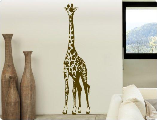 Popular Wandtattoo Giraffe