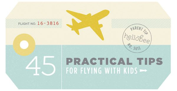 HB Flying With Kids Tips