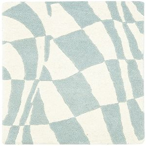 Traditional Blue and Ivory Rectangular: 2 Ft. x 3 Ft. Accent Rug