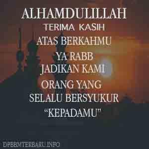 Gambar Dp Bbm Bersyukur Islami Kepada Allah Atas Rezeki - 100 ...