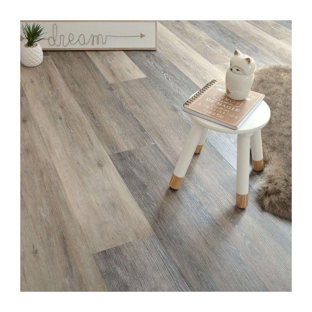Lames Sol Pvc Clipsable Click 5g Chene Brosse Panache Decoweb Flooring Home Decor Decor