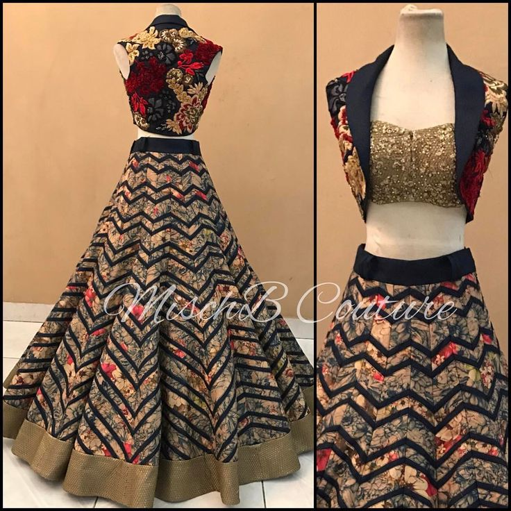 "462 Likes, 33 Comments - @mischbcouture on Instagram: ""Fractal Flora, lehenga by MischB Couture #desicouture #desifashion #desibride #mischbcouture…"""