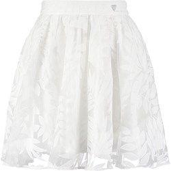 Guess LETIZIA Spódnica plisowana seashell white