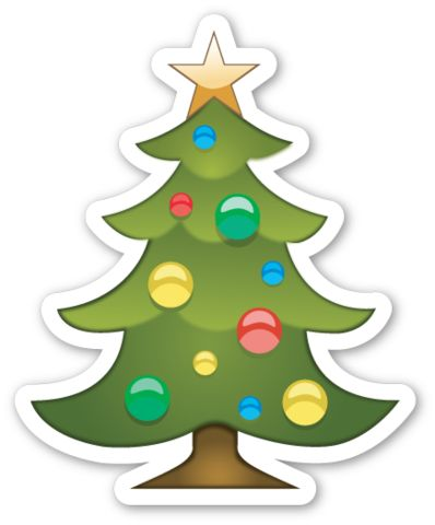 Christmas Tree | EmojiStickers.com