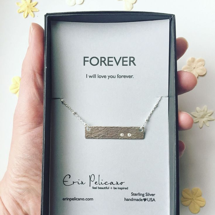 Simple and sweet remembrance necklace, miscarriage jewelry. Strength and inspiration necklace.