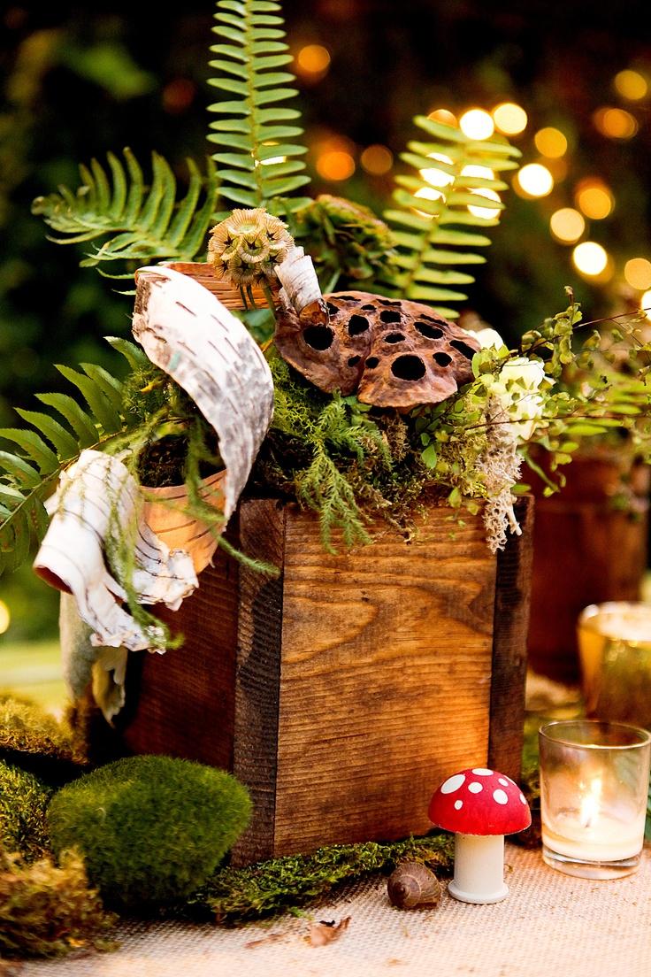 A Woodland Wedding Inspiration .... ♥♥ ...