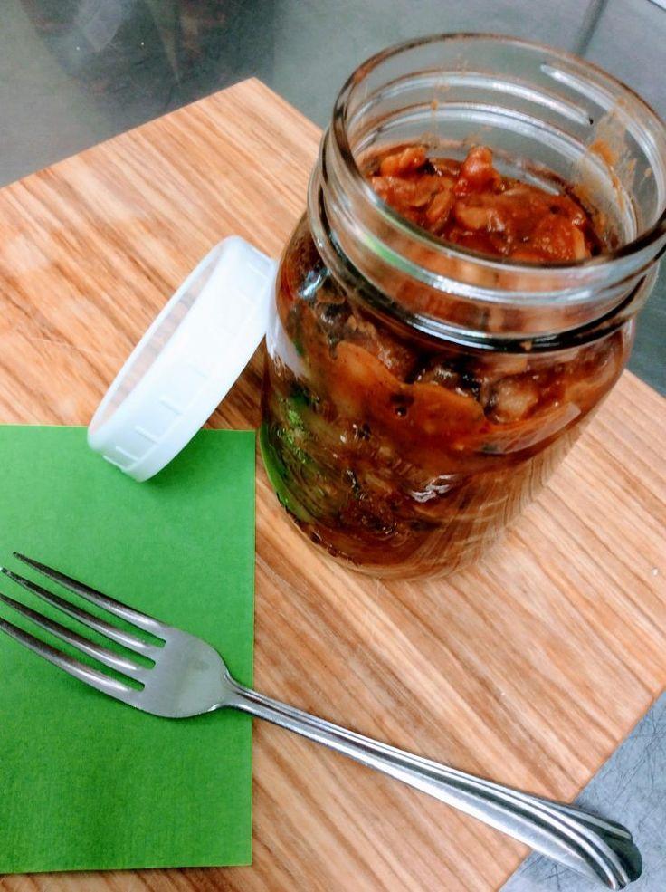 Chili aux fèves de lima géante  Un délicieux chili végétarien, le succès de la fête des récoltes!