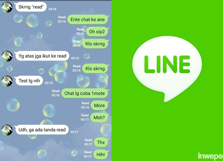 Cara Membuat Efek Background Animasi Salju Bubble di LINE