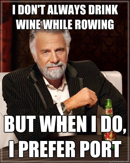 I want to get back into rowing...
