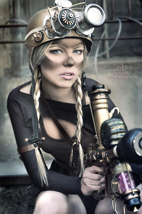 Steampunk miner. Love the smug on the face. <3