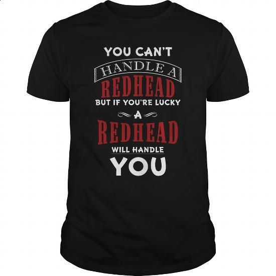 You Can't Handle A Redhead Funny Gift For Anyone - #gift ideas #thank you gift