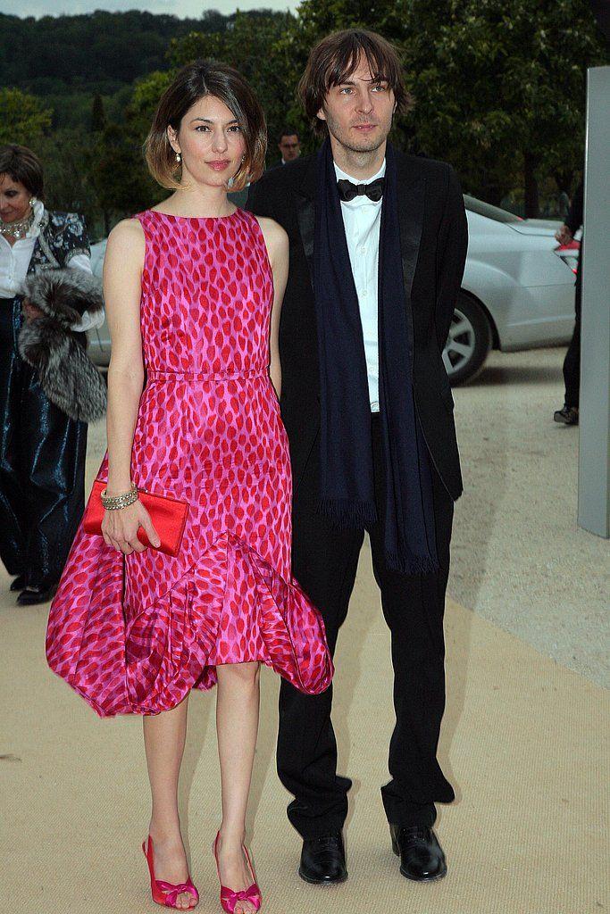 "Sofia Coppola and her husband Thomas Mars of ""Phoenix"""
