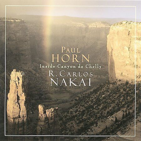 Paul Horn & Carlos Nakai:  Inside Canyon De Chelly (Cassette, 1997, Canyon) NEW
