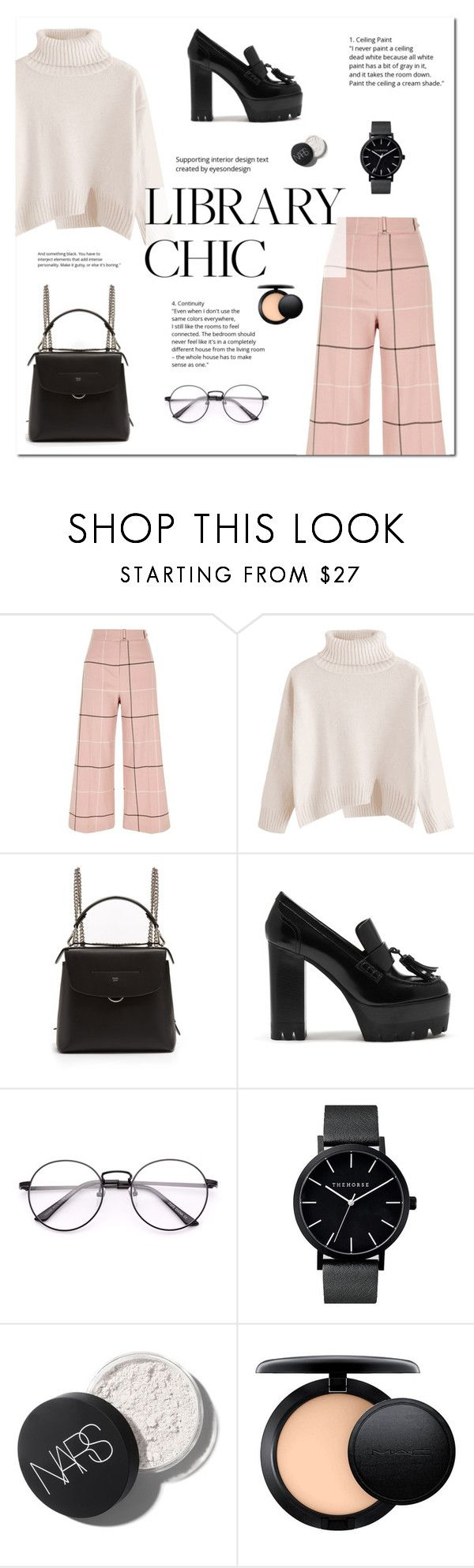 """""""Work Hard, Play Hard: Final Season"""" by ire2003 ❤ liked on Polyvore featuring River Island, Fendi, Mulberry and MAC Cosmetics"""