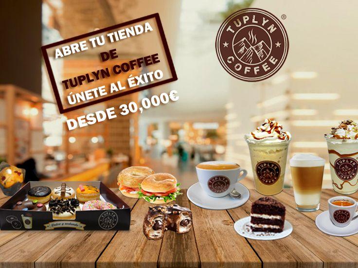 Abre tu tienda TUPLYN COFFEE www.tuplyncoffee.com Contacta@tuplyncoffee.com Tlf:34+948065453 España