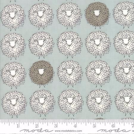 49002-16 Darling Little Dickens Sheep Aqua