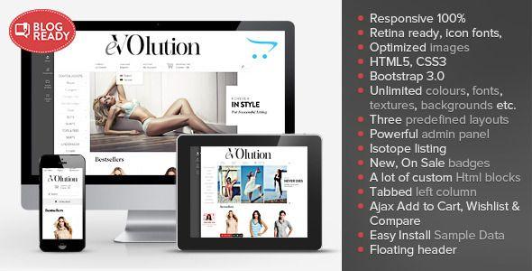 eVOlution - Premium Responsive OpenCart Theme