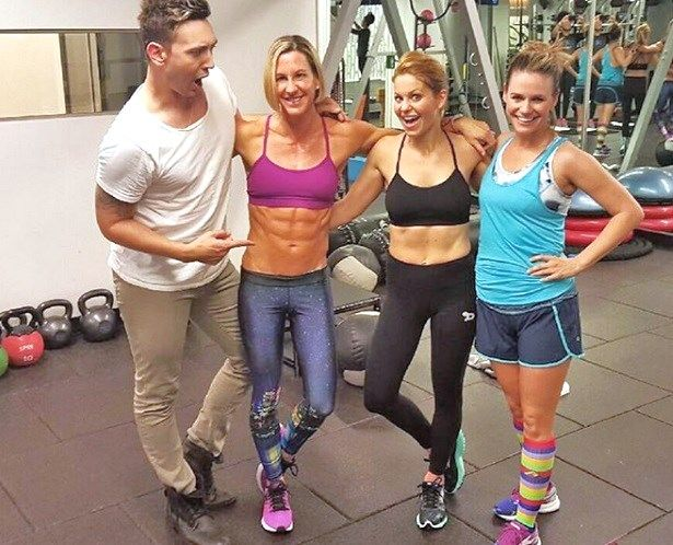 candace cameron abs diet workout