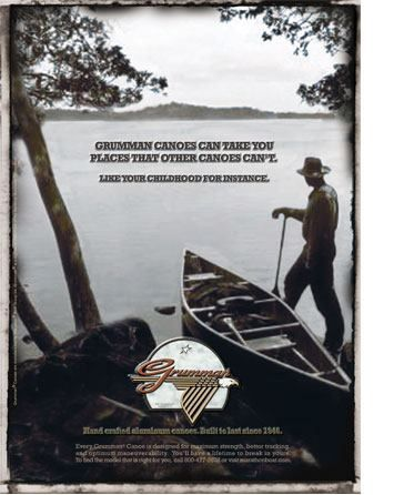 Grumman Canoes.