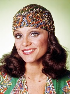 The beautiful Valerie Harper as Rhoda Morgenstern (on The Mary Tyler Moore Show and its spin-off Rhoda)
