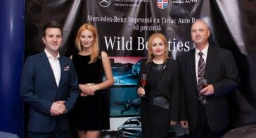 "Vitraj Premium Lounge a gazduit lansarea in Bacau a noilor automobile Clasa CLA si E de la Mercedes Benz, cu tematica ""WILD BEAUTIES"", in prezenta lui Andi Moisescu. http://vitraj.ro/index.php/lansare-mercedes"