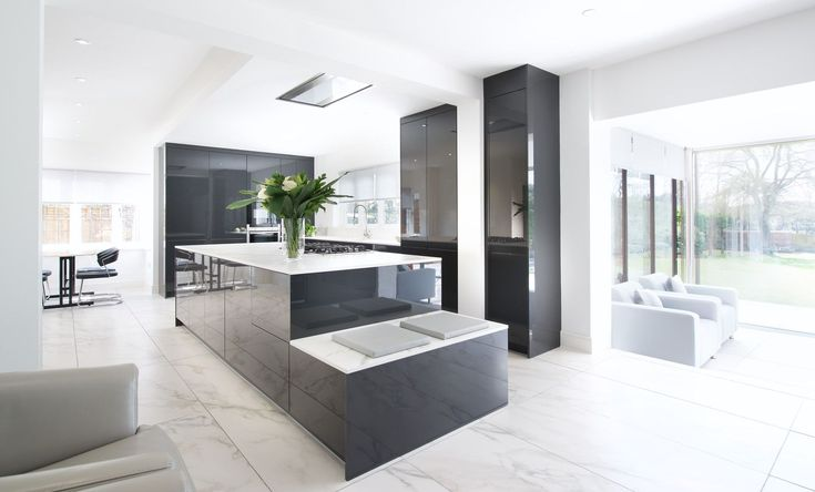 Open Space Minimalistic Kitchen for Ben Lee, architect at