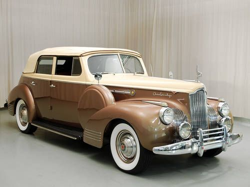 1941 Packard 160 Convertible Sedan...Brought to you by #CarInsurancein Eugene & #HouseofInsurance