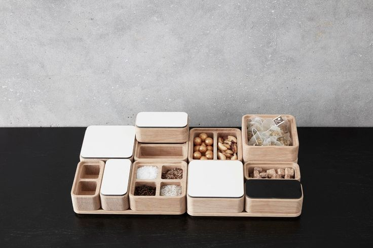 CREATE ME is a new accessories range from Andersen including trays and boxes in solid wood with lids in many different colours that offer endless storage possibilities with an elegant and natural touch.