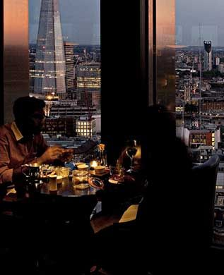 Bagging another star for his City Social, Jason Atherton's sky-high restaurant is one of London's finest City establishments. The intricate British menu, which comes with prices as high as the view, is as slick as you would imagine and the perfect setting for high rolling city folk. Read more now.